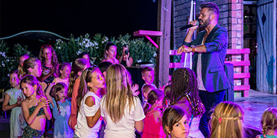 Une Kids Night à Portiragnes