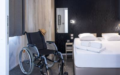Is the holiday accommodation suitable for people with reduced mobility?