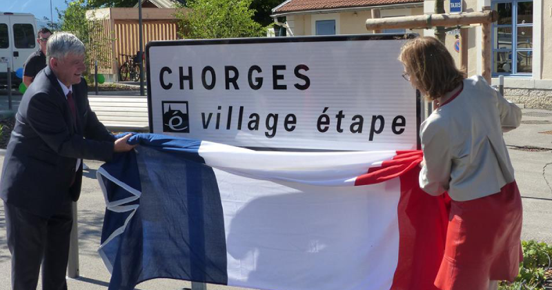 label village etape chorges 2018