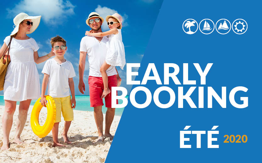 5 reasons to book your holiday via Early Booking