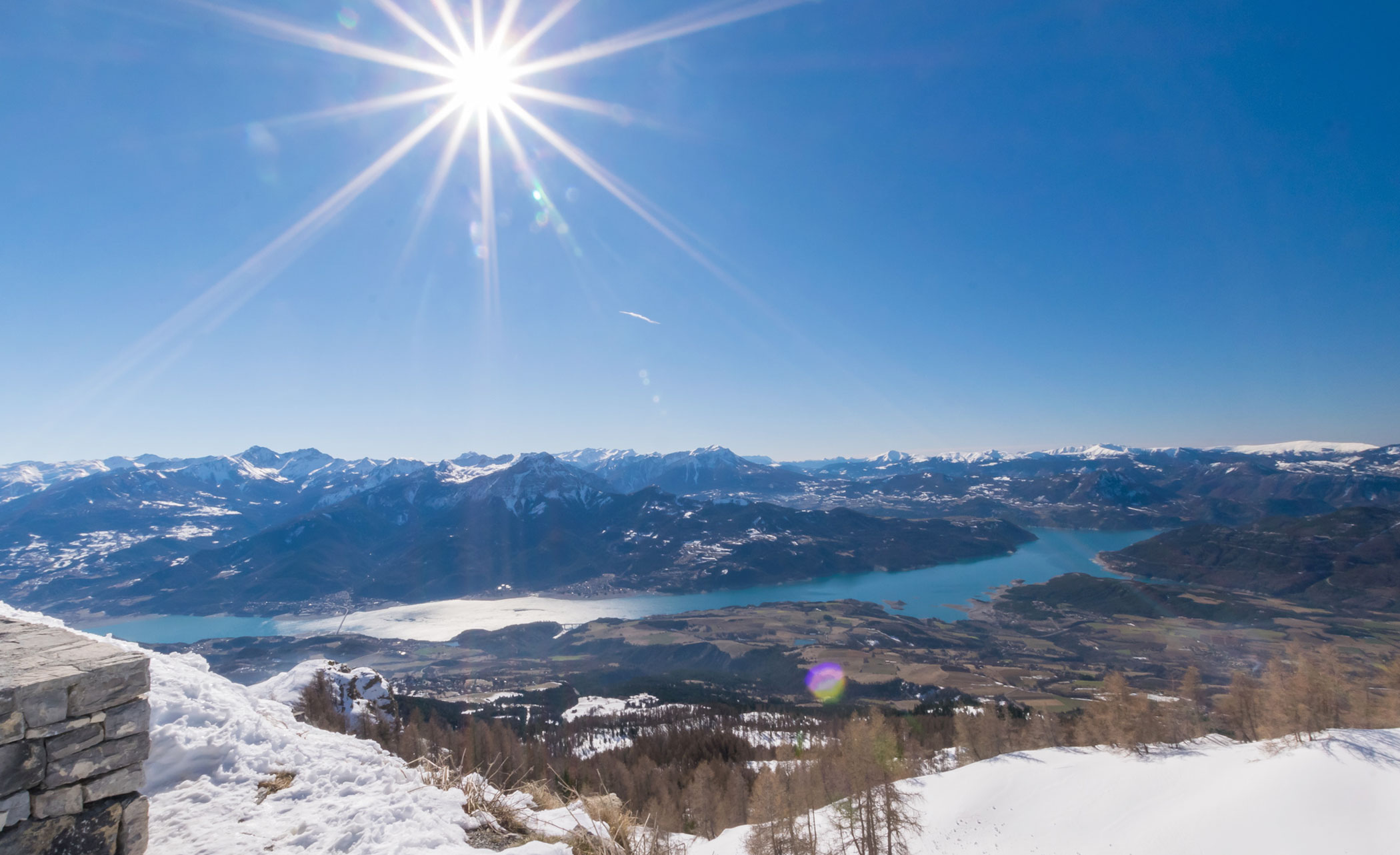 reallon ski lac destination hivernale